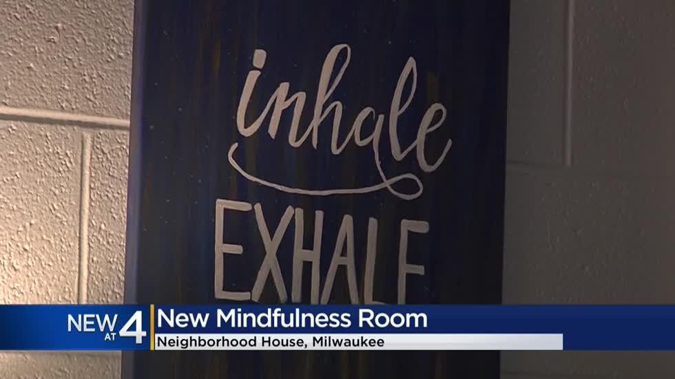 After learning a teen used a storage room to deal with stress, two local businesses gave it a makeover