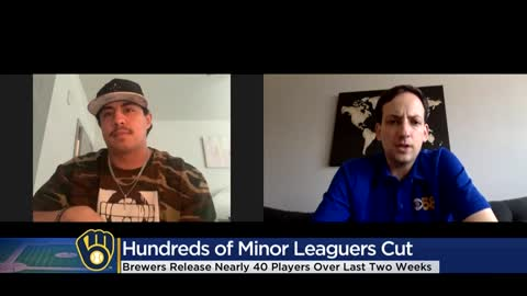 "Former Brewers react to major cuts throughout MLB, ""It was almost like a D-Day for minor leaguers"""