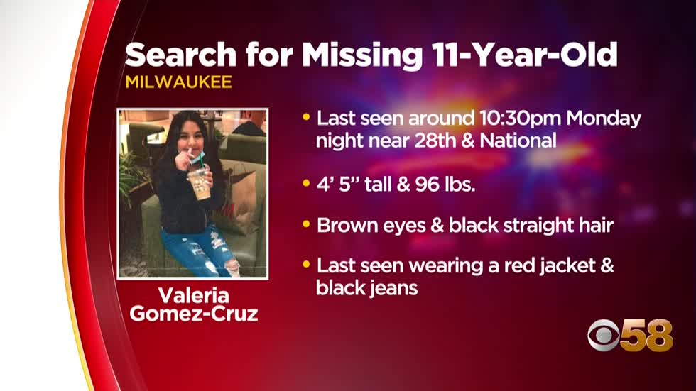 Found safe: 11-year-old Milwaukee girl last seen near 28th and National located