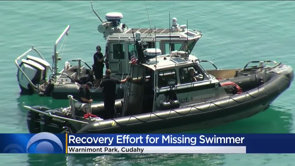 Officials continue recovery effort for missing swimmer identified as Brookfield teen