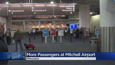 Mitchell International Airport adds safety measures, urges passengers to wear masks