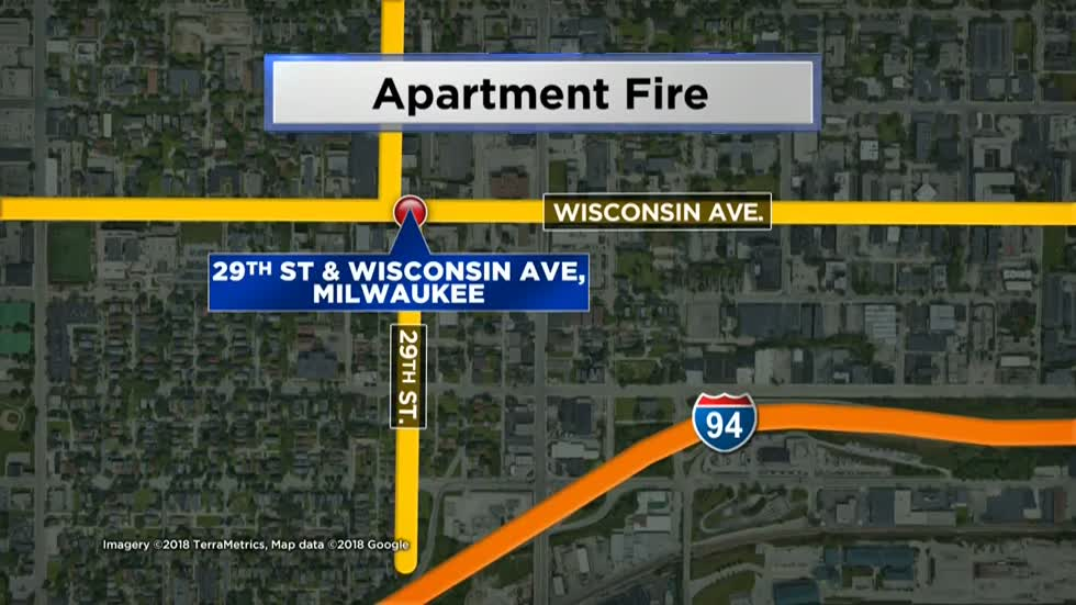MPD: Woman arrested for suspicion of arson after 15 people displaced in apartment fire