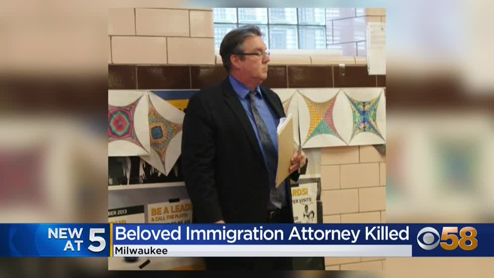 Police release photos of man suspected in 'senseless' killing of Milwaukee immigration attorney