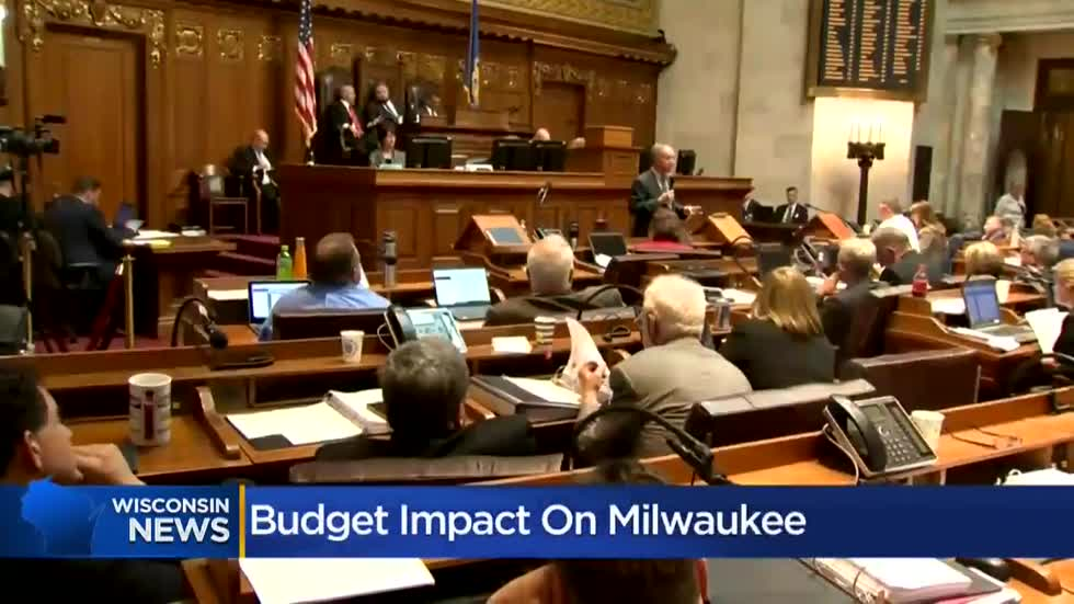 How did Milwaukee fare in Wisconsin's budget?