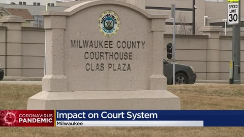 COVID-19 outbreak postpones Milwaukee County court dates