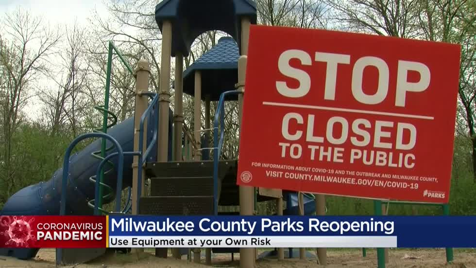 Milwaukee County warns to bring your own sanitizer if heading to the parks