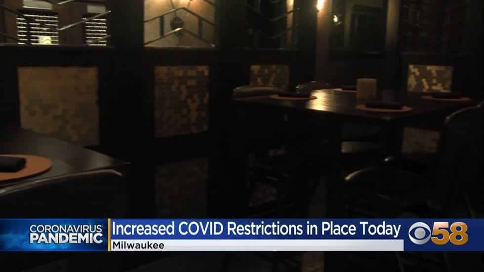 New public gathering restrictions in Milwaukee go into effect...