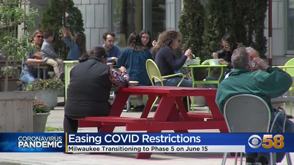 Milwaukee to ease COVID restrictions beginning June 15