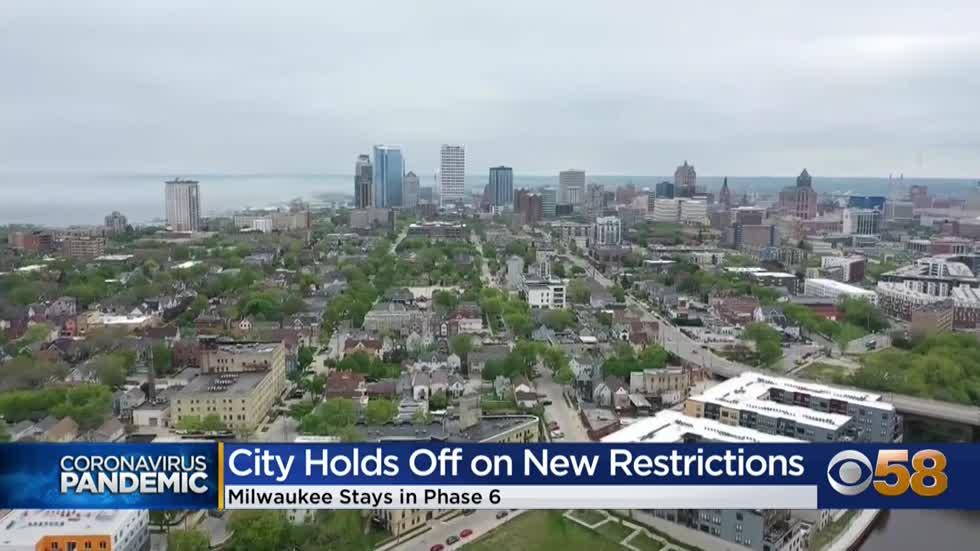 City of Milwaukee not changing public health order, keeping focus...