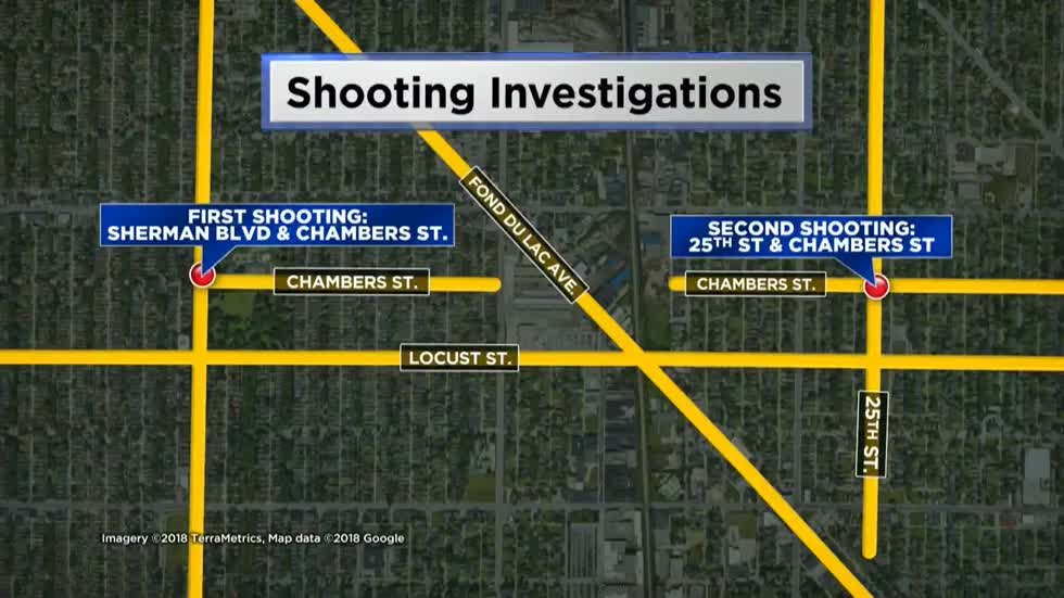 MPD: Man walks into hospital with gunshot wound following shooting near 25th and Chambers