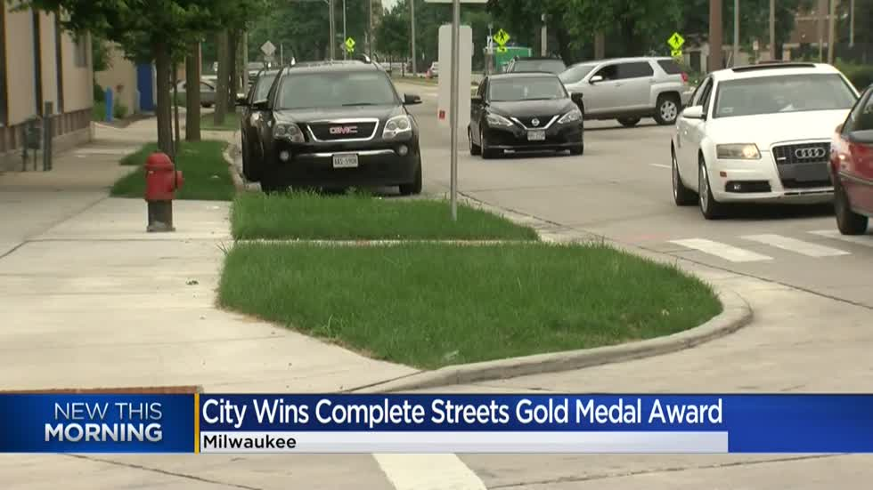 Milwaukee awarded gold medal for policies promoting safe and healthy transportation