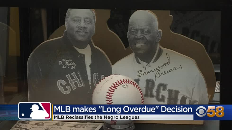 MLB decision on Negro League's 'long overdue'