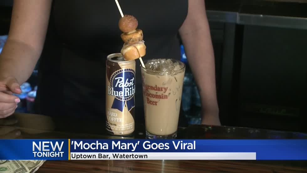 Watertown bar goes viral with 'Mocha Mary' cocktail