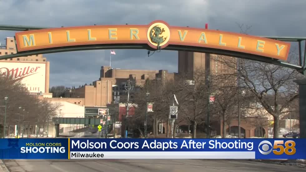 Molson Coors preparing internally for mass shooting anniversary