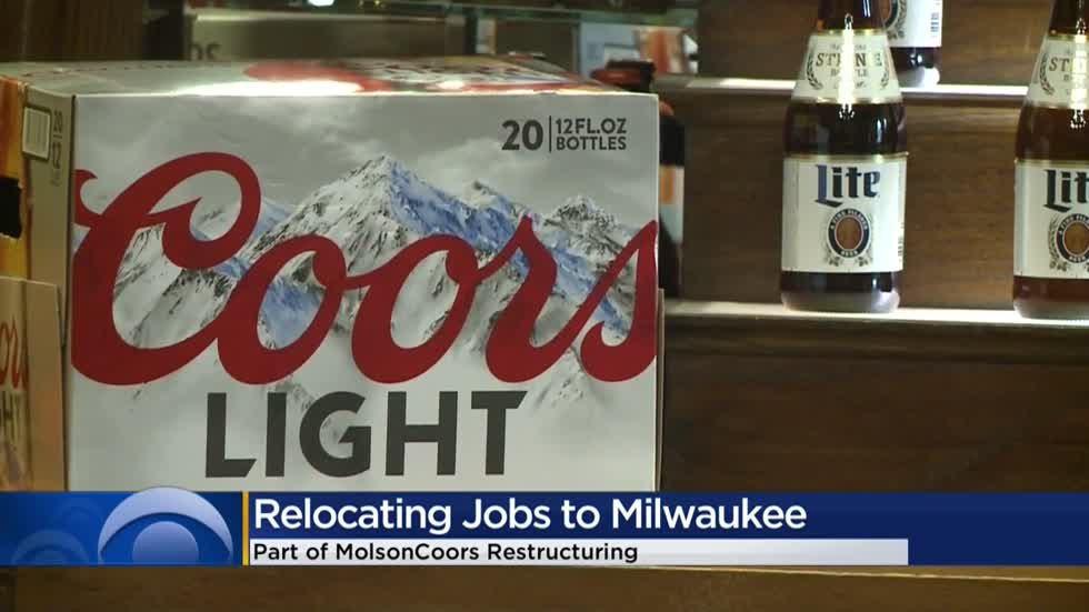 Milwaukee set to gain hundreds of jobs with closure of Molson Coors Denver office