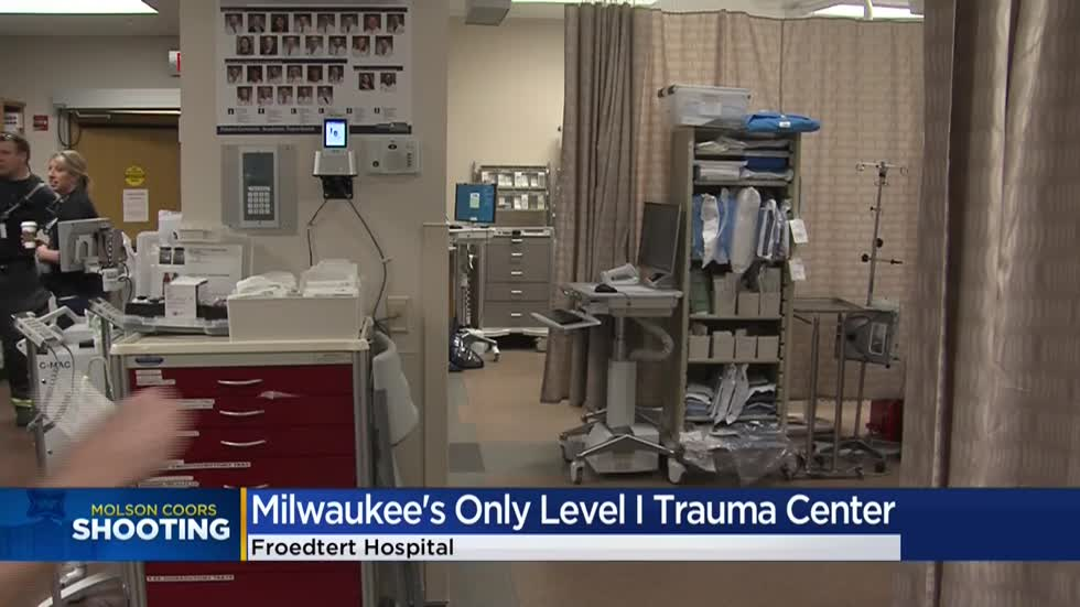 How the Froedtert Hospital Trauma Center prepared during Molson Coors shooting