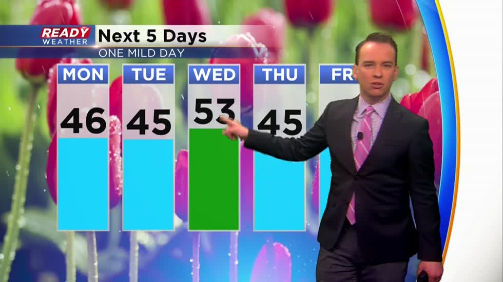 Milwaukee picks up first measureable snow of March