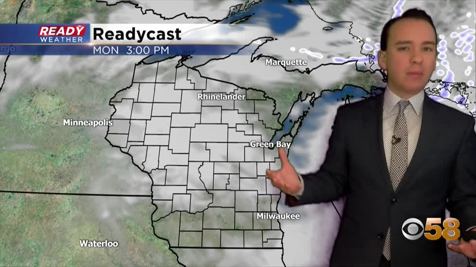 Cloudy and mild January continues