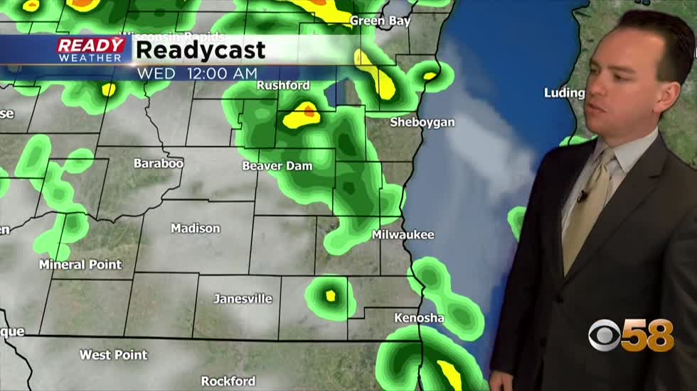 Scattered rain chances but no washouts this week