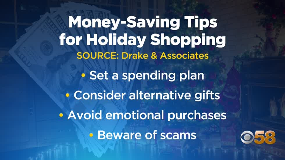 Local financial advisor shares money-saving tips for holiday shopping season