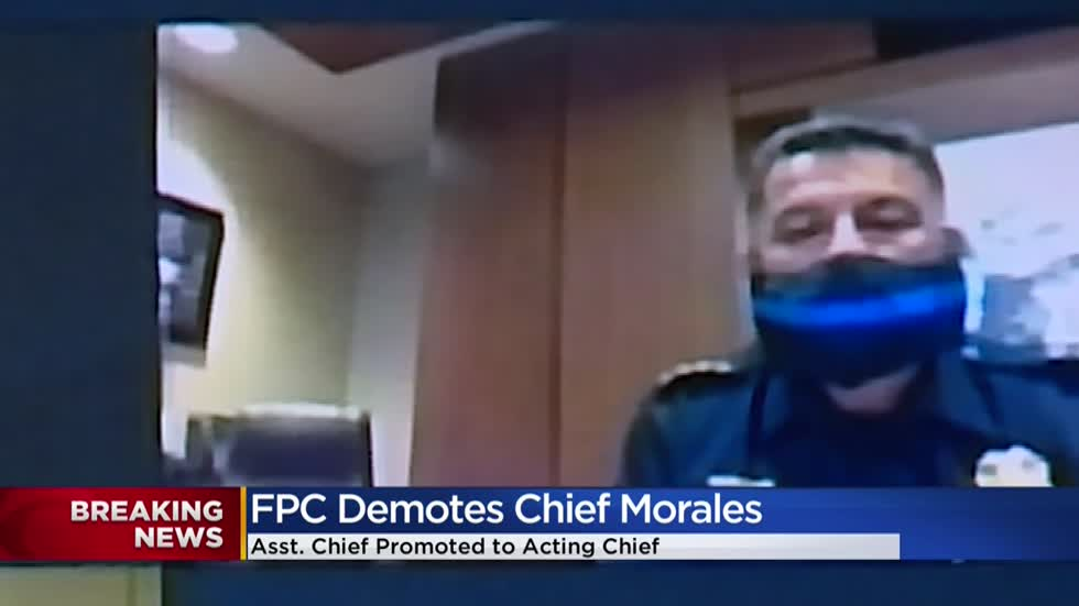 FPC votes to demote Milwaukee Police Chief Alfonso Morales to captain