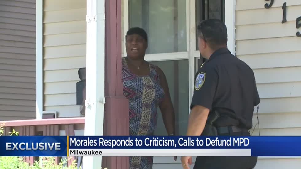 CBS 58 Exclusive: Chief Morales speaks out on recent criticism, calls to defund MPD