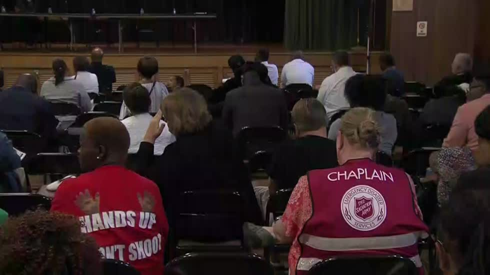 MPD Chief Morales hosts Town Hall Meeting on north side