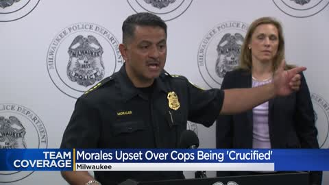 'I'm angry:' Chief Morales upset with reaction toward officers, department