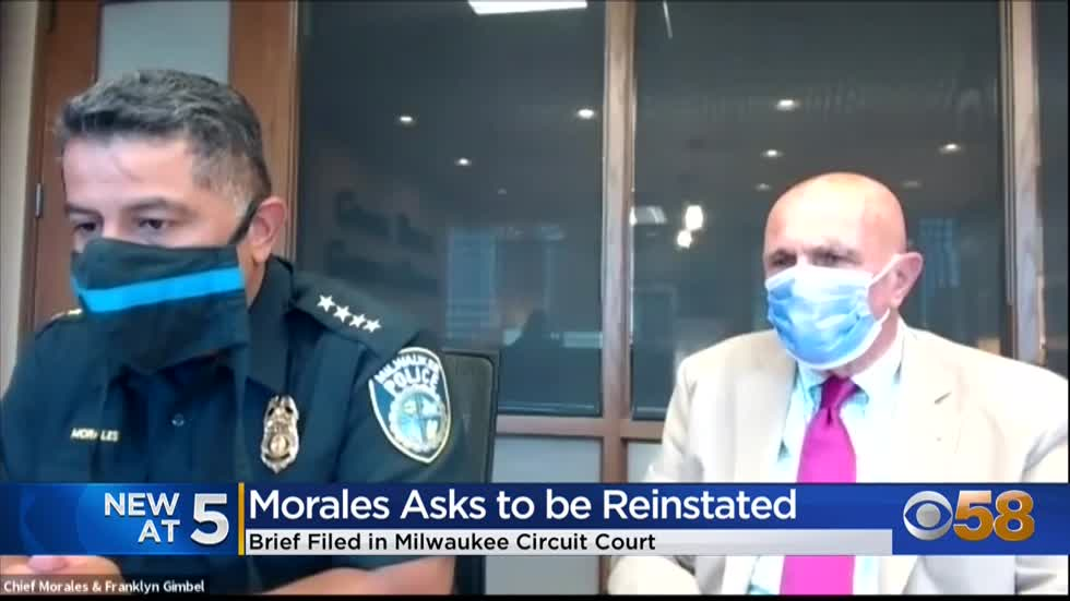 Attorney of former police chief Alfonso Morales asks for his reinstatement