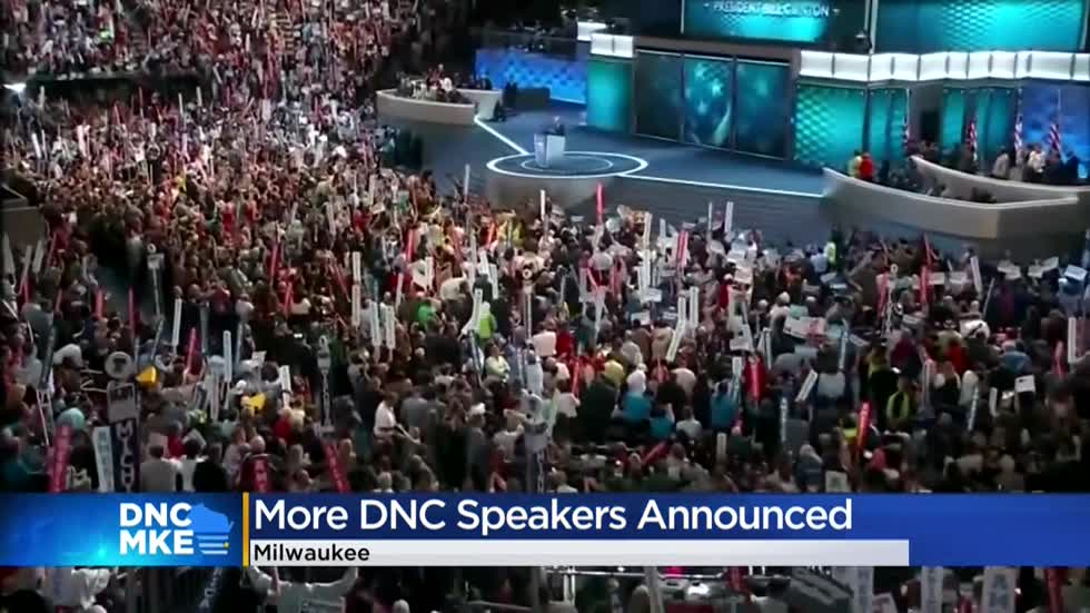 DNC speaker list includes heavy dose of Wisconsin as virtual event anchors in Milwaukee