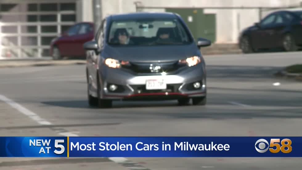 Most stolen cars in Milwaukee: Kia, Hyundai and Honda models