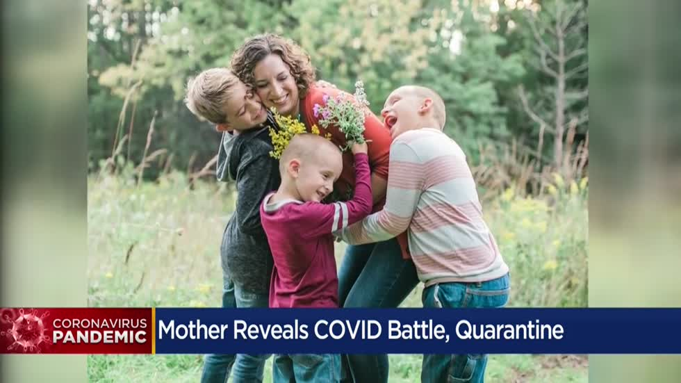 Founder of Milwaukee Mom site shares family's experience with coronavirus