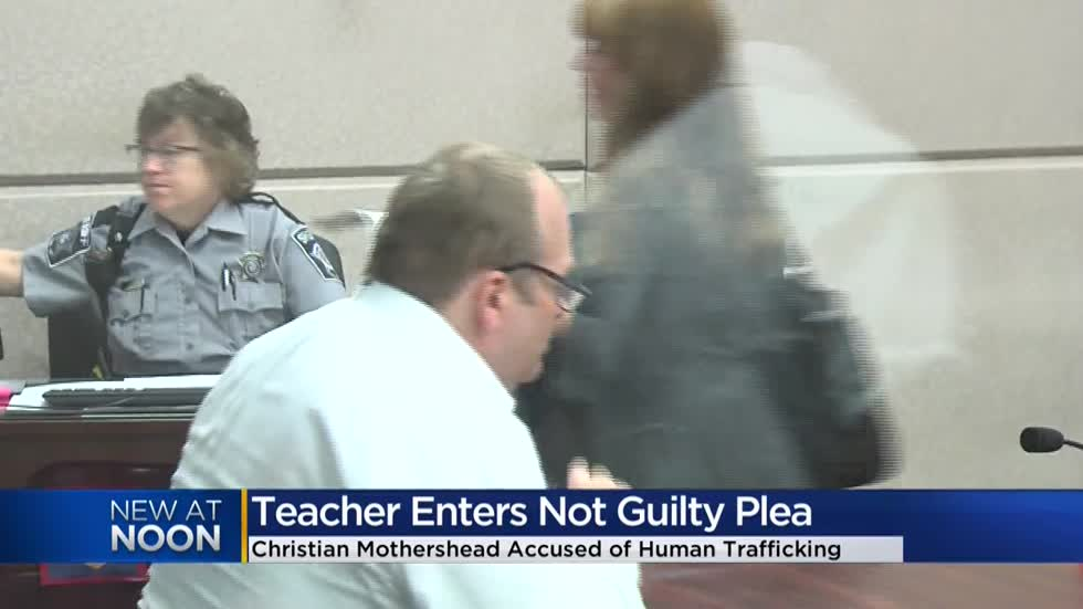 Former MPS teacher accused of human trafficking pleads not guilty