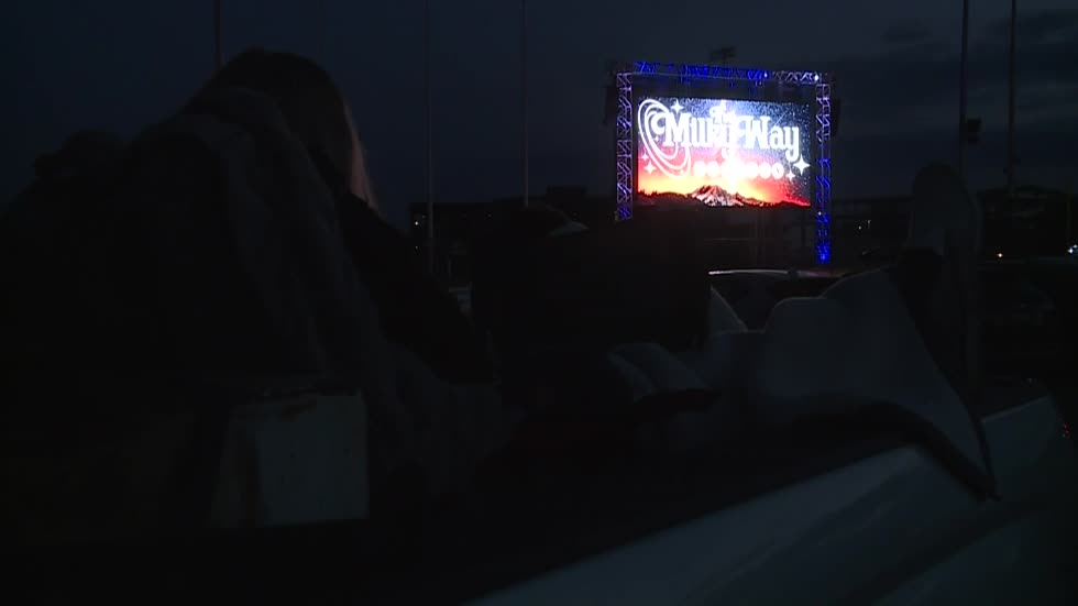 Nostalgia helps bring in hundreds for Milky Way Drive-In Opening Night