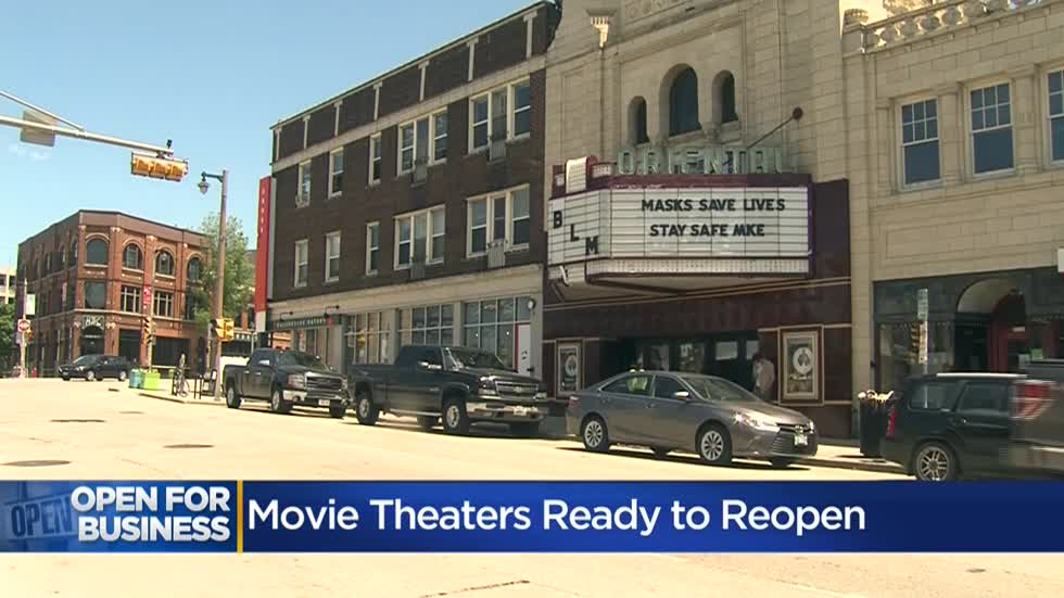 Movie theaters, big and small, in Milwaukee area announce plans to reopen