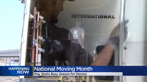 May marks the time to highlight moving and movers (especially during COVID)