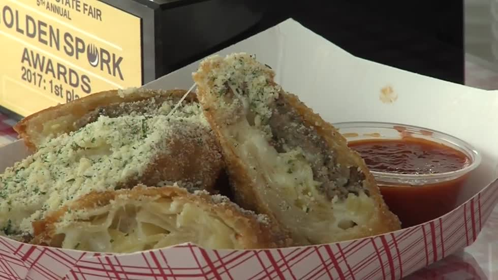 Spaghetti and meatball mozzarella sticks wins first place at Sporkie Awards