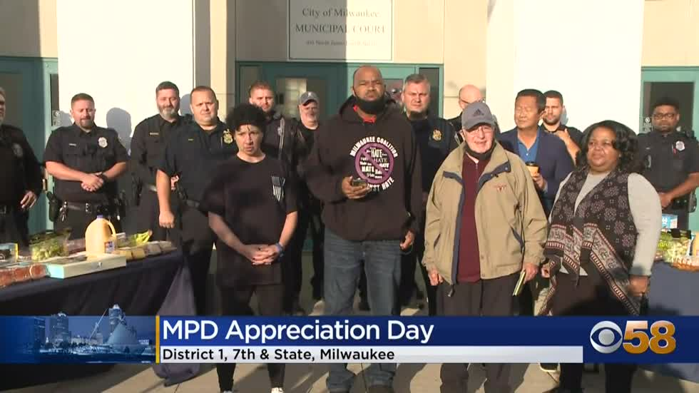 Community activists recognize Second Annual Milwaukee Police...