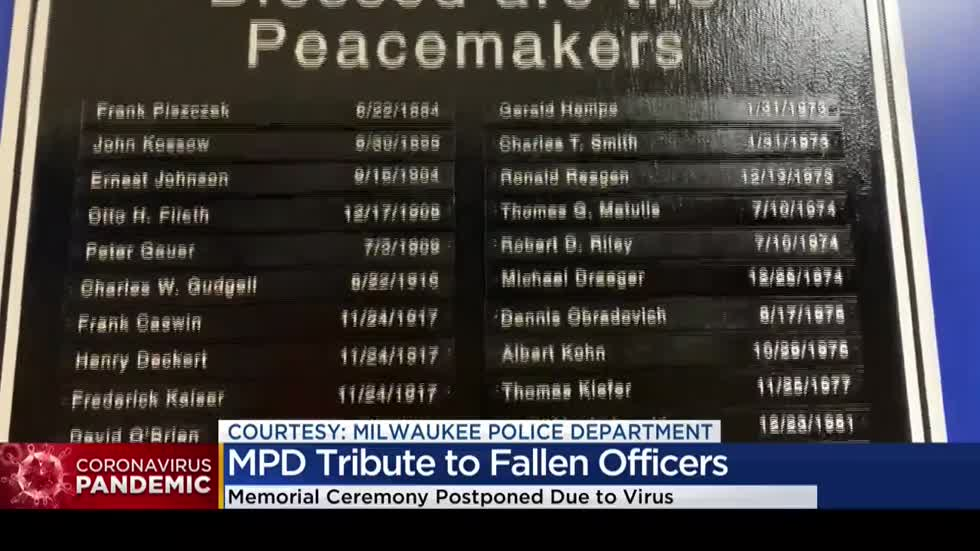 MPD pays tribute to fallen officers as annual ceremony postponed over pandemic