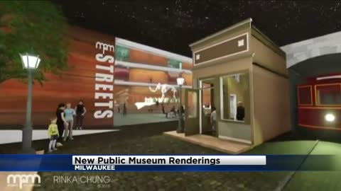 Milwaukee Public Museum unveils images of what a new facility may look like