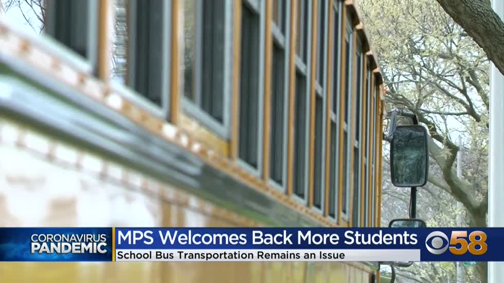 MPS bus issues not completely resolved as grades 4-8 return