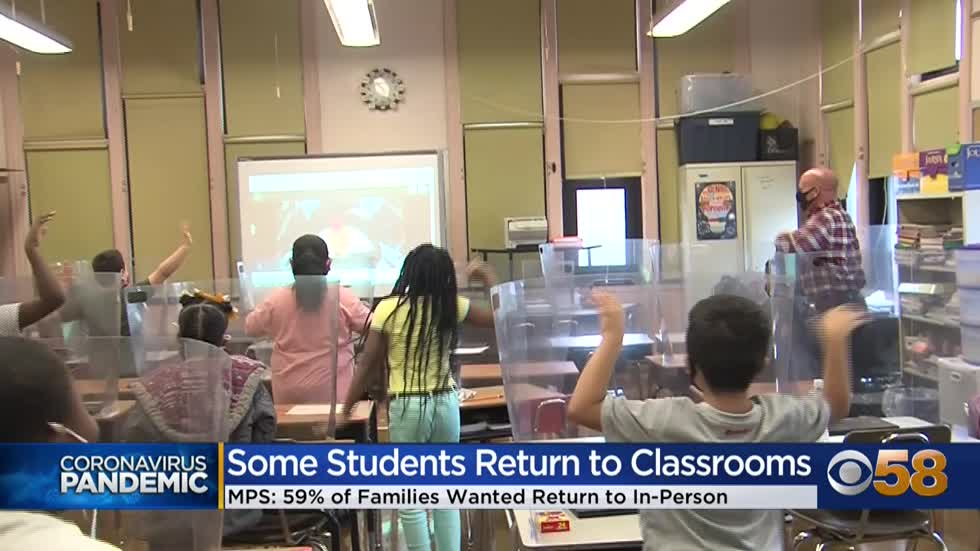 'Welcome back!' MPS reopens for in-person learning Wednesday,...