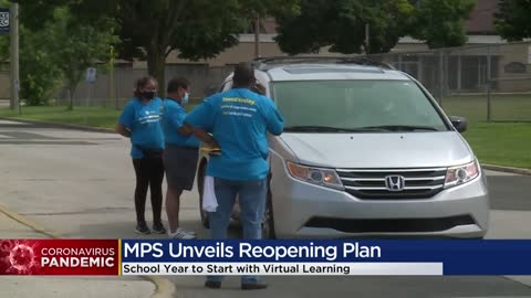 MPS curbside enrollment gets underway