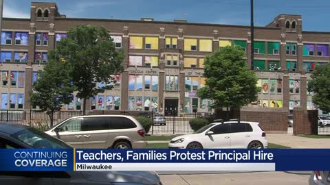 MPS teachers and students protest principal hiring decision