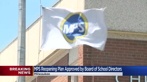 Milwaukee Public Schools board approves reopening plan for 2020-21 year