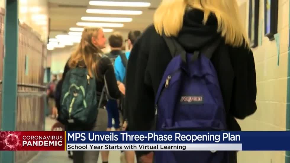 MPS releases three-phase reopening recommendation to include virtual learning for all students in fall