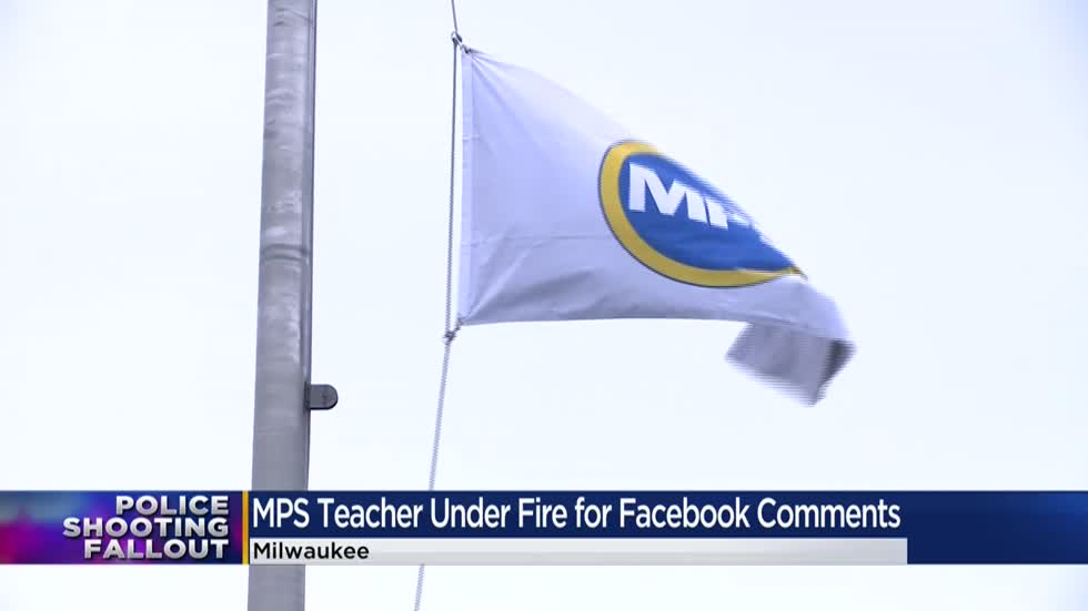 MPS teacher in hot water after making inappropriate social media comment on Kenosha shooting