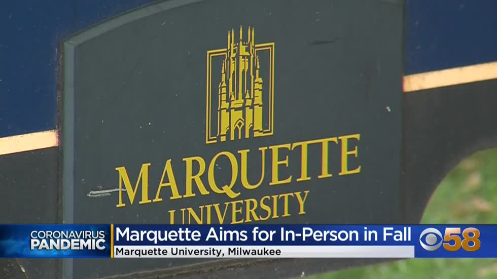 Marquette University announces plans for in-person learning this...