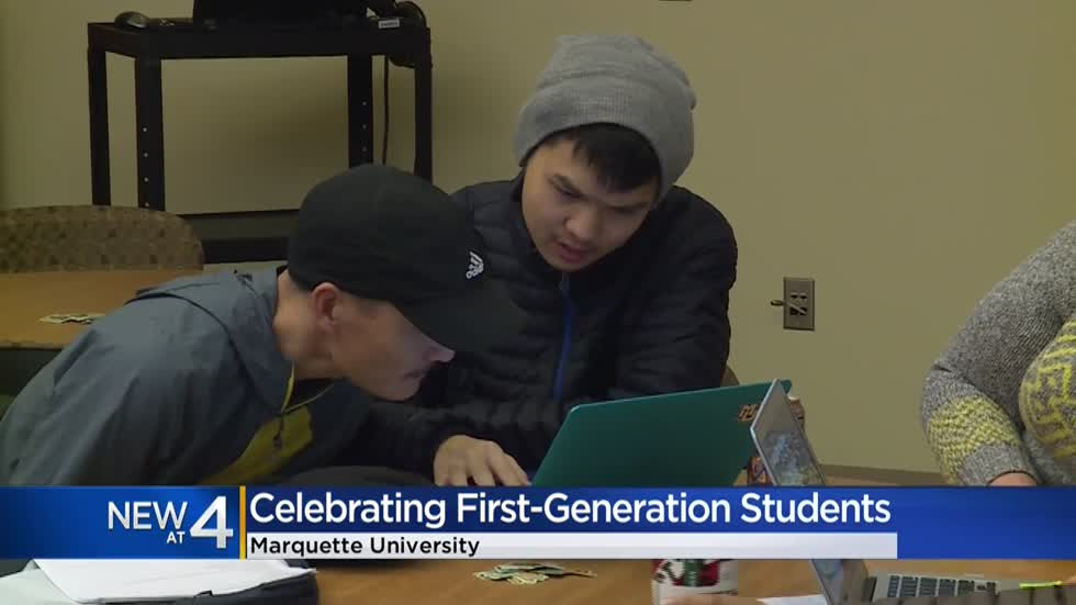 Marquette University celebrates 1st-generation students