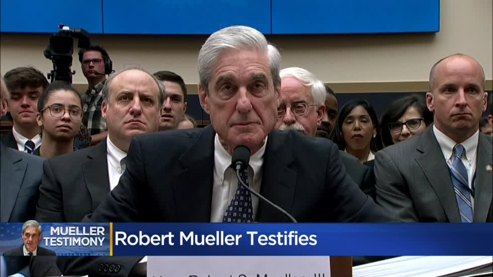 Mueller testifies before Congress on special counsel report